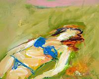Andrey-Bogoslowsky-People-Women-Nature-Earth-Modern-Age-Impressionism