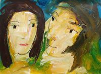 Andrey-Bogoslowsky-People-Couples-Emotions-Love-Contemporary-Art-Neo-Expressionism