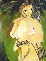 Andrey-Bogoslowsky-Emotions-Fear-Erotic-motifs-Female-nudes-Contemporary-Art-Neo-Expressionism