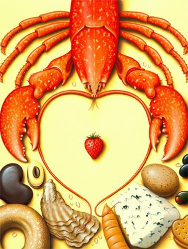 James Marsh, Hungrey Heart, Nature: Miscellaneous, Still life, Post-Surrealism, Contemporary Art