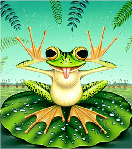 James Marsh, Frog Spurn, Miscellaneous Animals, Fantasy, Post-Surrealism
