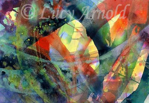 Lucy Arnold, Connections, Abstract art, Abstract art, Abstract Art