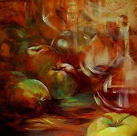 Carmen-Kroese-Still-life-Meal-Contemporary-Art-Contemporary-Art
