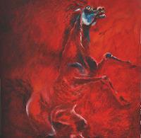 Carmen-Kroese-Abstract-art-Animals-Land-Contemporary-Art-Contemporary-Art