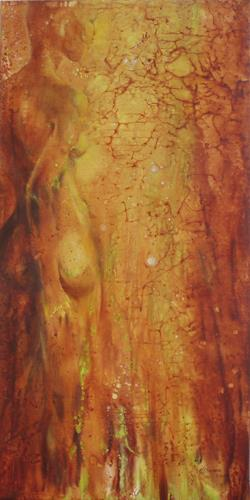 Carmen Heidi Kroese, Mary, Erotic motifs: Female nudes, People: Women, Contemporary Art