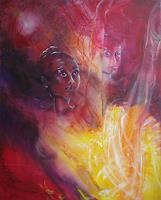 Carmen-Kroese-Erotic-motifs-Female-nudes-People-Women-Contemporary-Art-Contemporary-Art