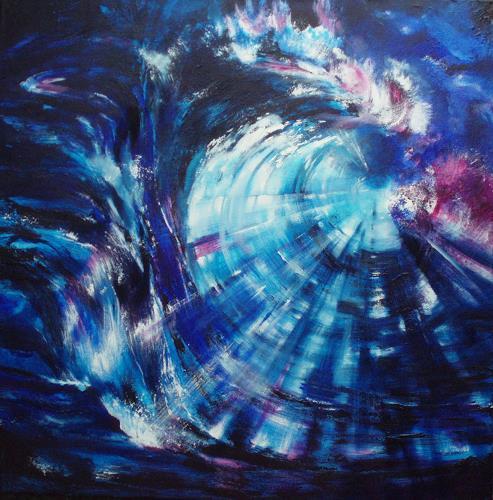 Carmen Kroese, Dynamik, Abstract art, Movement, Contemporary Art