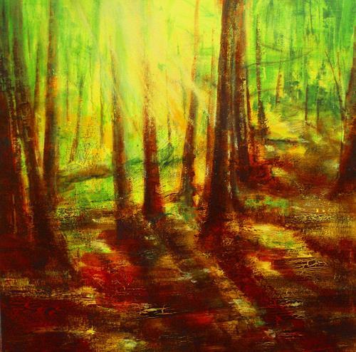 Carmen Heidi Kroese, L'odeur du bois, Nature: Wood, Plants: Trees, Contemporary Art