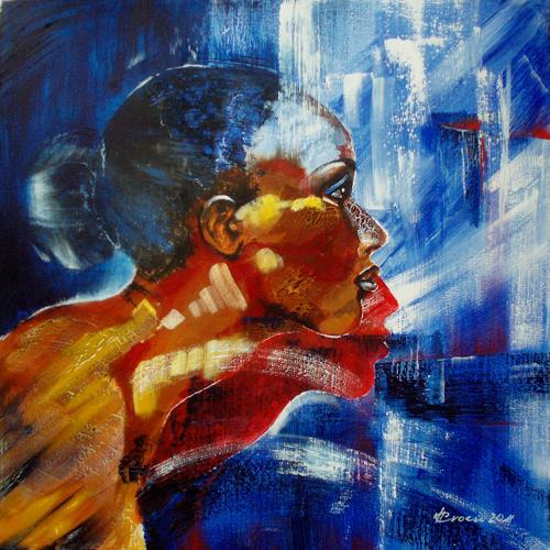 Carmen Heidi Kroese, Portrait, People: Women, People: Portraits, Contemporary Art, Expressionism
