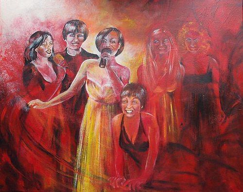 Carmen Kroese, Cantatrices, People: Group, Music: Concerts, Contemporary Art