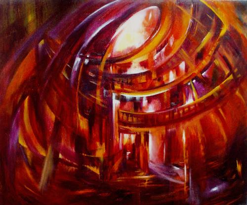 Carmen Kroese, Dome de l'esprit, Abstract art, Buildings: Churches, Contemporary Art