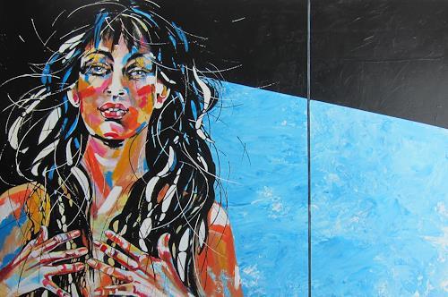 Carmen Heidi Kroese, selbstbewusst, People: Women, Miscellaneous Emotions, Contemporary Art