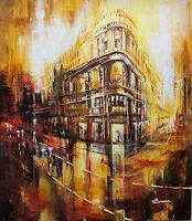 Carmen-Kroese-Traffic-Car-Buildings-Houses-Contemporary-Art-Contemporary-Art