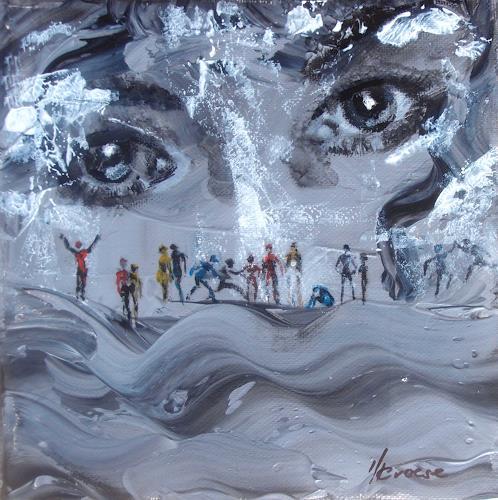 Carmen Heidi Kroese, Le monde des rèves, People: Faces, Miscellaneous Emotions, Contemporary Art