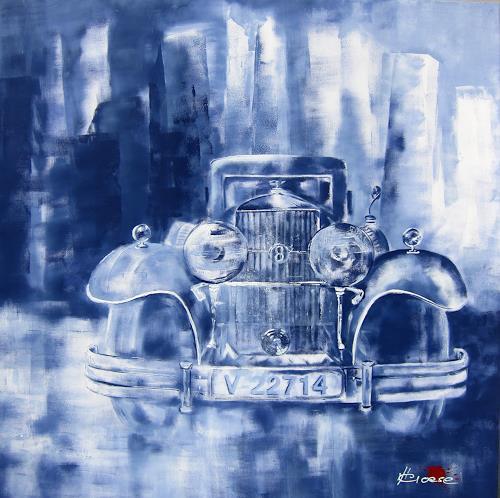 Carmen Heidi Kroese, Bitte einsteigen, Technology, Traffic: Car, Contemporary Art, Expressionism
