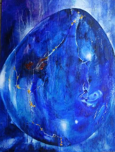 Carmen Heidi Kroese, Lapislazuli, Nature: Rock, Nature, Contemporary Art, Expressionism
