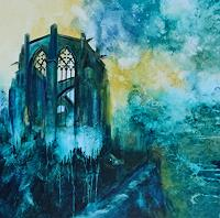 Carmen-Heidi-Kroese-Abstract-art-Buildings-Churches-Modern-Age-Expressive-Realism