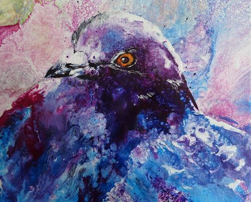 Carmen Heidi Kroese, Taube, Animals: Air, Animals: Land, Expressive Realism, Expressionism