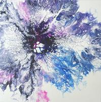 Carmen-Heidi-Kroese-Nature-Water-Miscellaneous-Plants-Modern-Age-Abstract-Art-Action-Painting