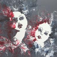 Carmen-Heidi-Kroese-People-Women-People-Faces-Modern-Age-Expressive-Realism