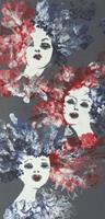 Carmen-Heidi-Kroese-People-Faces-People-Portraits-Modern-Age-Expressive-Realism