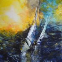 Carmen-Heidi-Kroese-Verkehr-Ship-Sports-Modern-Age-Expressive-Realism