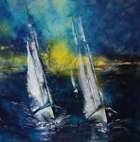 Carmen-Heidi-Kroese-Sports-Landscapes-Sea-Ocean-Modern-Age-Expressive-Realism