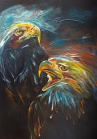 Carmen-Heidi-Kroese-Animals-Air-Emotions-Pride-Modern-Age-Expressive-Realism