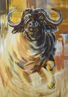 Carmen-Heidi-Kroese-Animals-Land-Emotions-Aggression-Modern-Age-Expressive-Realism