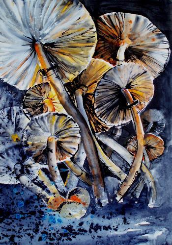 Carmen Kroese, Pilze, Nature: Miscellaneous, Expressionism