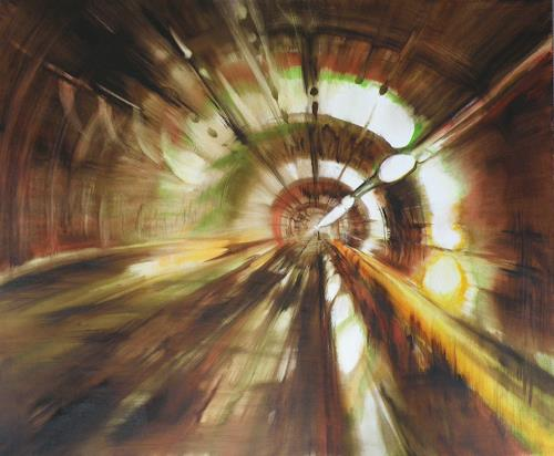 Carmen Heidi Kroese, Metro, Miscellaneous Buildings, Architecture, Contemporary Art, Abstract Expressionism