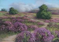 Kerstin-Birk-Landscapes-Summer-Landscapes-Mountains-Modern-Times-Realism