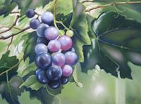 Kerstin-Birk-Plants-Fruits-Still-life-Modern-Times-Realism