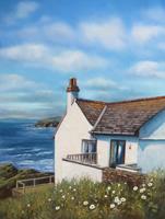 Kerstin-Birk-Landscapes-Summer-Landscapes-Sea-Ocean-Modern-Times-Realism