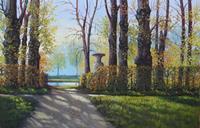 Kerstin-Birk-Landscapes-Autumn-Plants-Trees-Modern-Times-Realism