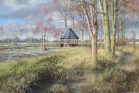 Kerstin-Birk-Landscapes-Spring-Plants-Trees-Modern-Times-Realism