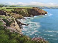 Kerstin-Birk-Landscapes-Spring-Landscapes-Sea-Ocean-Modern-Times-Realism