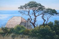 Kerstin-Birk-Landscapes-Sea-Ocean-Plants-Trees-Modern-Times-Realism