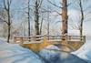 Kerstin Birk, Brücke im Winter