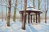 Kerstin Birk, Pavillon im Winter