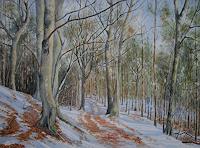 Kerstin-Birk-Landscapes-Winter-Nature-Wood-Modern-Times-Realism