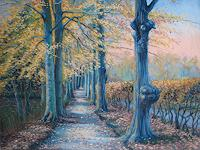 Kerstin-Birk-Landscapes-Autumn-Nature-Wood-Modern-Times-Realism