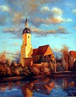 Kerstin-Birk-Buildings-Churches-Landscapes-Autumn-Modern-Times-Realism
