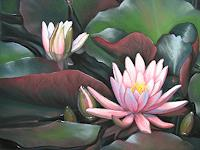 Kerstin-Birk-Plants-Flowers-Nature-Water-Modern-Times-Realism