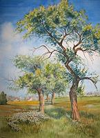 Kerstin-Birk-Plants-Trees-Landscapes-Spring-Modern-Times-Realism