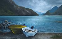 Kerstin-Birk-Landscapes-Sea-Ocean-Nature-Water-Modern-Times-Realism