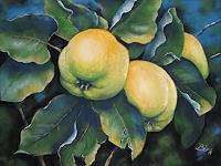Kerstin-Birk-Plants-Fruits-Landscapes-Autumn-Modern-Times-Realism