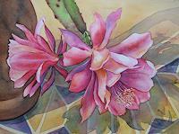 Kerstin-Birk-Plants-Flowers-Still-life-Modern-Times-Realism
