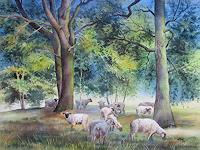 Kerstin-Birk-Animals-Land-Plants-Trees-Modern-Times-Realism