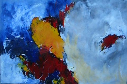 Silva Bender, Abseits, Abstract art, Abstract Art, Expressionism